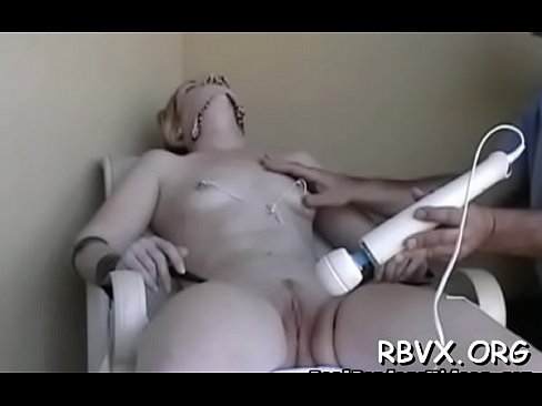 Shy gal gets fastened up and manhandled in bondage scene - Download mp4 XXX porn videos
