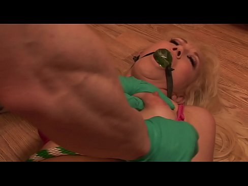 Blonde Milf with Big Tits Bondage Fantasy