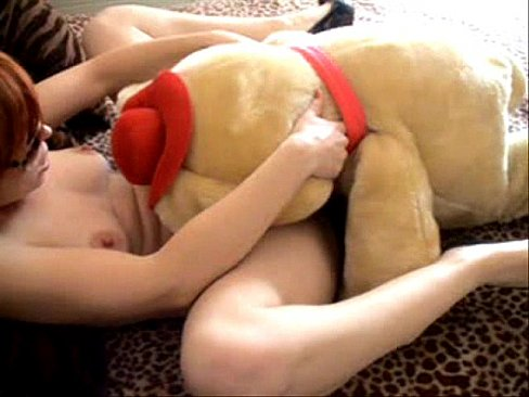 Why girls hump pillows and stuffed animals
