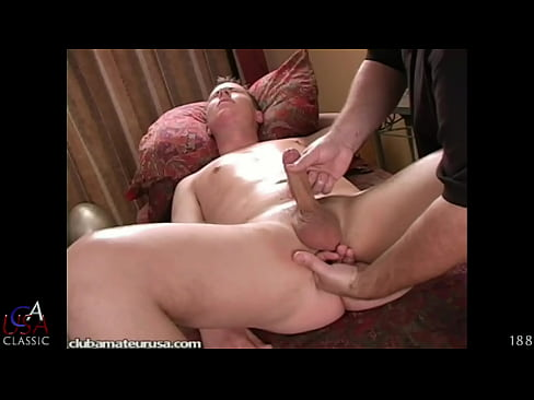 Straight guy's prostate get pushed and his dick goes rock-hard