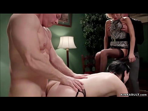 Slaves anal fucked and made rimming