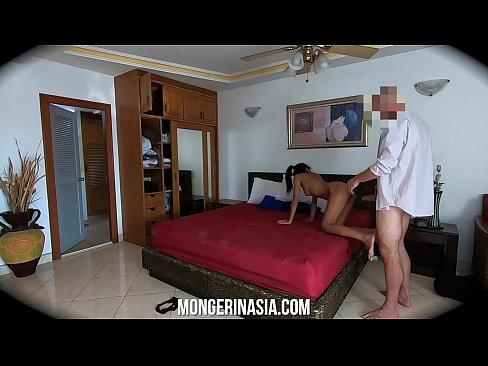 Beautiful Thai Hooker Secretly Captured Fucking On Spycam