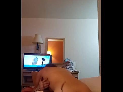 Hardcore squirt on big dick