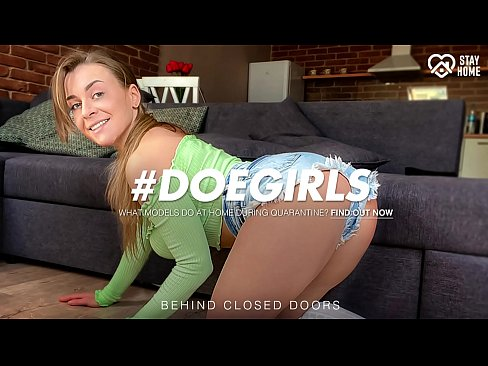 DOEGIRLS - #Josephine Jackson - Sexy Busty Ukrainian Clean The Room Before She Start To Play With Her Dildo