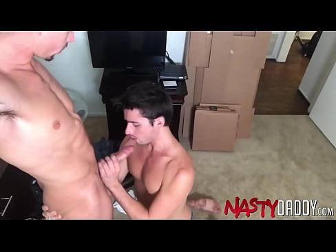 NASTYDADDY Hung Jack Hunter Sucked And Rimmed By Liam Aires