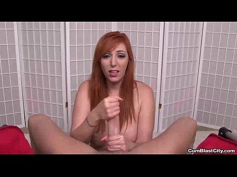 Congratulate, very slut cumblast splattered with jizz redhead gets remarkable