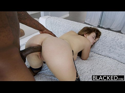 BLACKED Big Tit Model Loves Anal with BBC