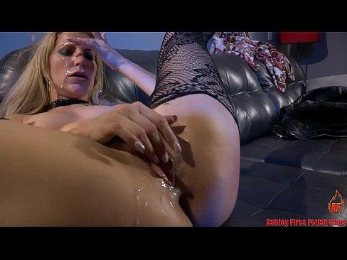 Ashley Fires Threesome - Ashley Fires gangbang