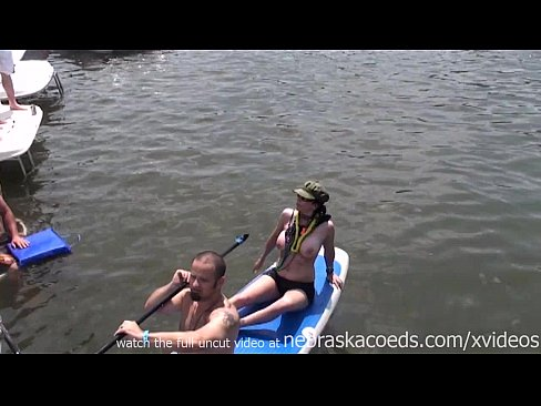 wild and real day party video from party cove lake of the ozarks missouri