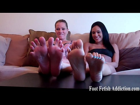 You love to suck our feet