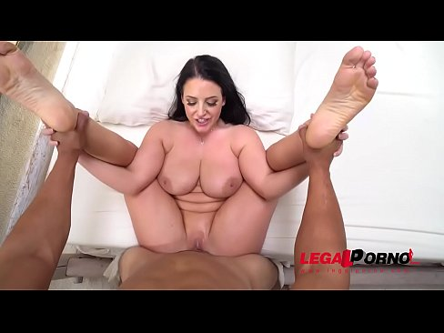 POV Hardcore Fuck with Busty Neighbor Angela White GP350