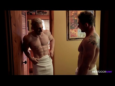 NextDoorRaw Markie More & Muscle Hunk Daddy Bareback Fuck