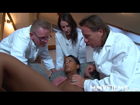 Tanned hottie Isabella Chrystin getting healed by professionals