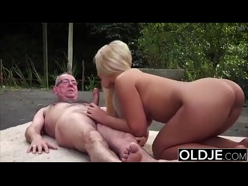 Old and Young Porn - BustyTeen Gets Wet and Sucks Grandpa FULL VIDEO ==> http://zo.ee/6CpP3