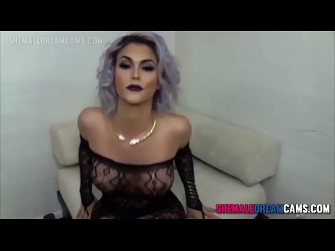 Domino Presley Sexy Camshow - ShemaleDreamCams.Com
