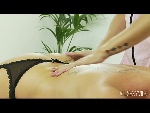 Lesbian Massage with Natasha Marley and Amanda Rendall
