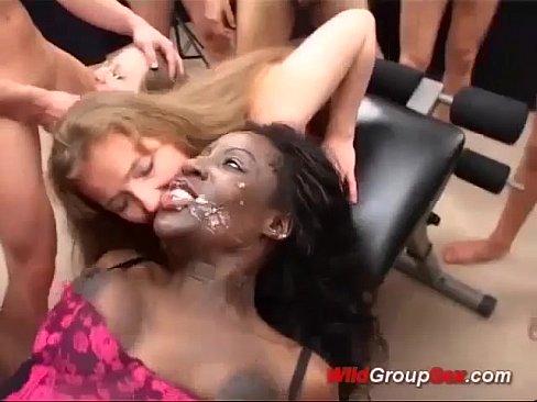 bukkake party porno