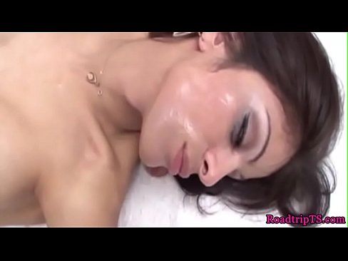 Trannies spilling cum in compilation video