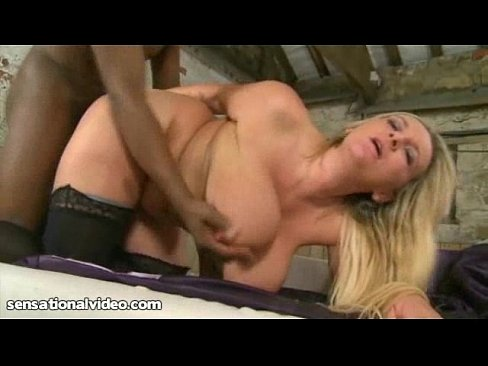 Bouncing Big Black Cock