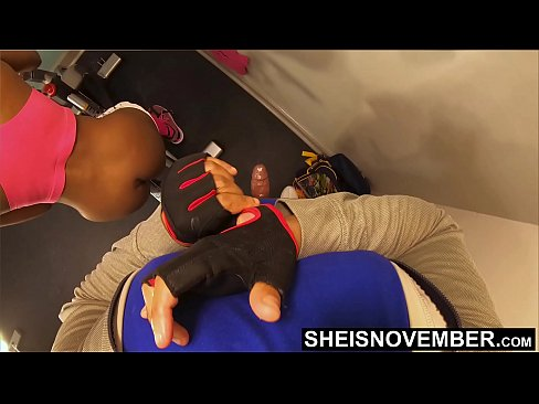 Savage Painful Anal! Ready To Viciously Kill Her Young Little Tight Ebony Ass Hole On This Exercise Bike, Savage POV Brutal Anal Assfuck In Innocent Geek Msnovember Shitter On Sheisnovember