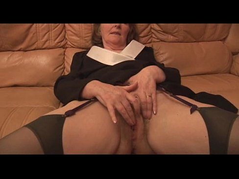 Sissy mother dyke footjob