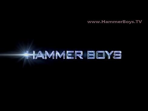 Home alone huge dick Patrik Ruben from Hammerboys TV