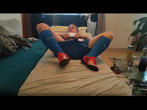 German Soccer Player Solo cum