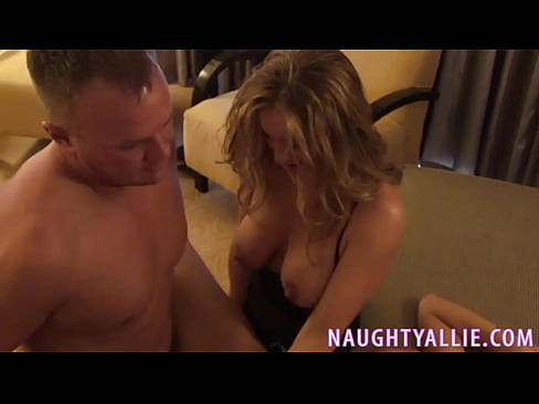 Two Hot Blondes Share Cock