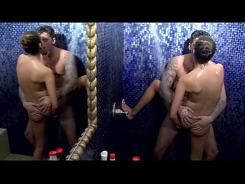 Ádám & Melani shower sex part 3 Éden Hotel