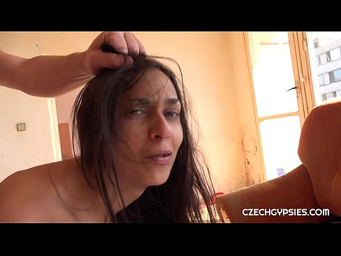 Ashely Ocean is real Czech gypsy girl. Our gypsy hunter hunted her while waiting for her boyfriend. She is really very cheap bitch