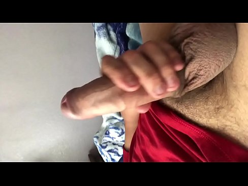 JDthatbitch playing with his big dick