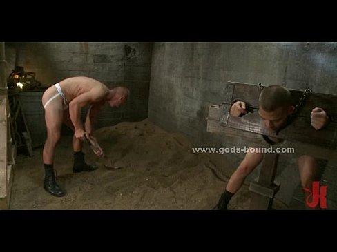 Gay bondage prisoner