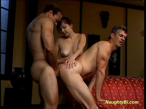 Naughty bisexual gets fucked