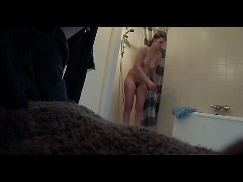 Sexy Chick Finishes Her Shower Hidden Cam Clip from www.unluckylady.com