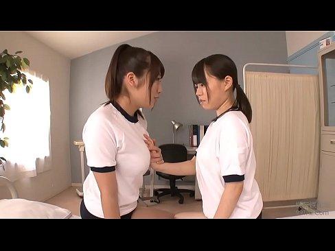 Lesbians japanese school friends