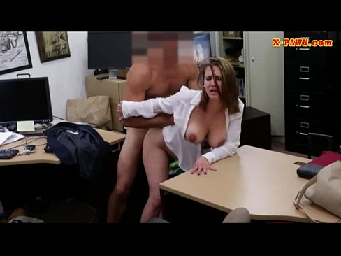 Foxy Huge Boobs Business Woman Screwed Up For Money