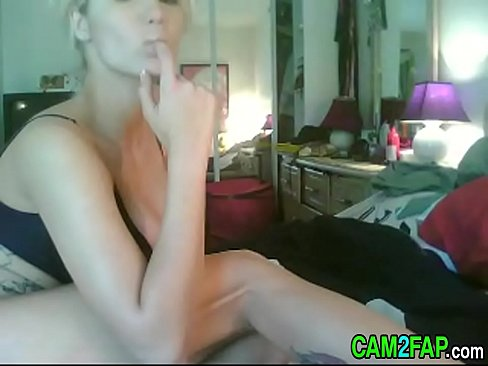 Porn in her face