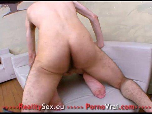 Grave sodomie pour la blonde Fuck in the ass! French amateur