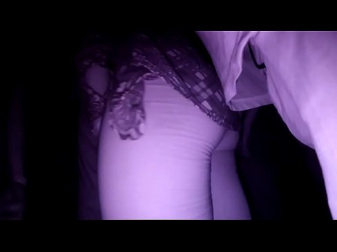 Stranger Man Touching & Fingering Unknown Woman's Pussy Under Skirt  in Night Club for more than 8 minutes and she Cumming on his Fingers !