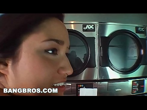 BANGBROS - Classic Ass Parade Movie: Big Ass In The Laundry Mat (Remastered)