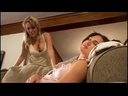 Huge Tits Lesbian Babysitter