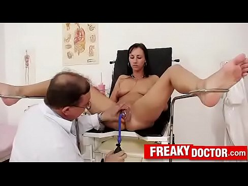 Terra Sweet gets harassed by dirty old gynecologist