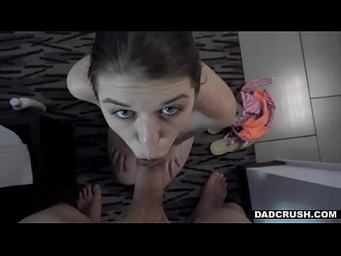 Teen Stepdaughter Licks Dad's Asshole During Blowjob