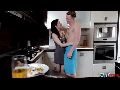 dark-haired deep throats on a cock more videos on http://bit.do/ctznv