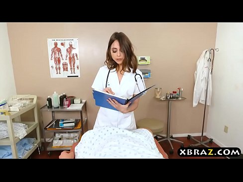 Nurse Riley Reid helps patient with sperm bank donation