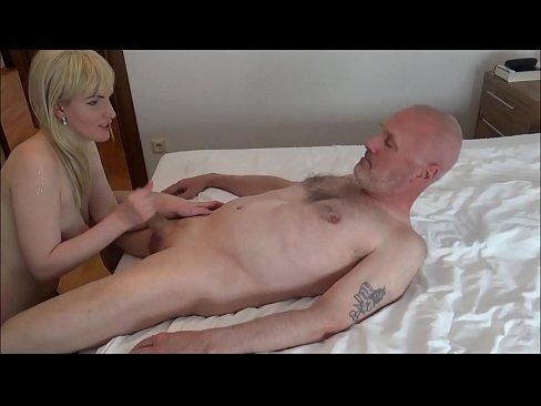 Ulf Larsen sucked by whore Angel