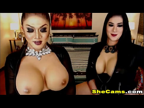 Horny Big Boobs Shemales On Live Fucking