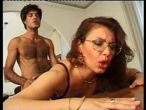 A Goofy Boy Facing The Sexy Principal Dreams To Fuck Her On The