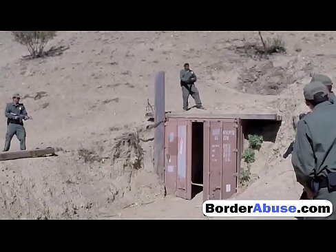 Mexican teen is in for a border patrol hardcore fuck experience's Thumb