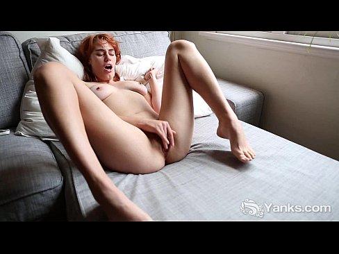 Naughty Molly Masturbate Her Bald Beaver